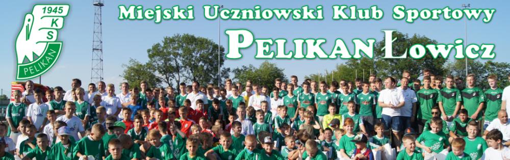 """Miejski Uczniowski Klub Sportowy """"PELIKAN"""" Łowicz"""